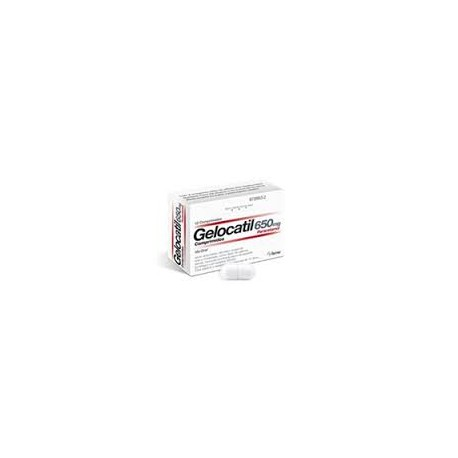 GELOCATIL 6450 MG 12 COMPRIMIDOS