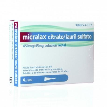 MICRALAX 4 MICROENEMAS
