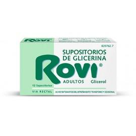 SUPOSITORIOS ROVI GLICERINA ADULTOS